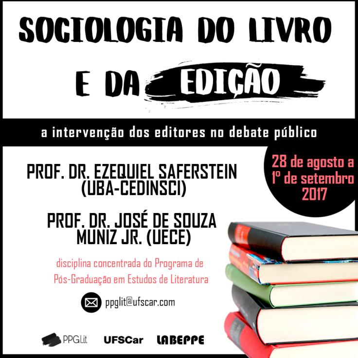 SOCIOLOGIA DA EDIÇÃO E DO LIVRO