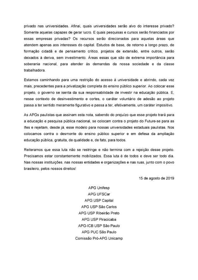Nota APG 2
